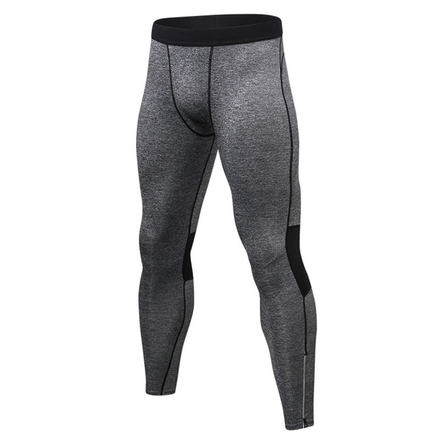 Men S Compression Pants Leggings Men Tights Basketball Licras Reflective Zipper Legging Sport Homme Gym Leggings Men Black Color Running Tights Aliexpress