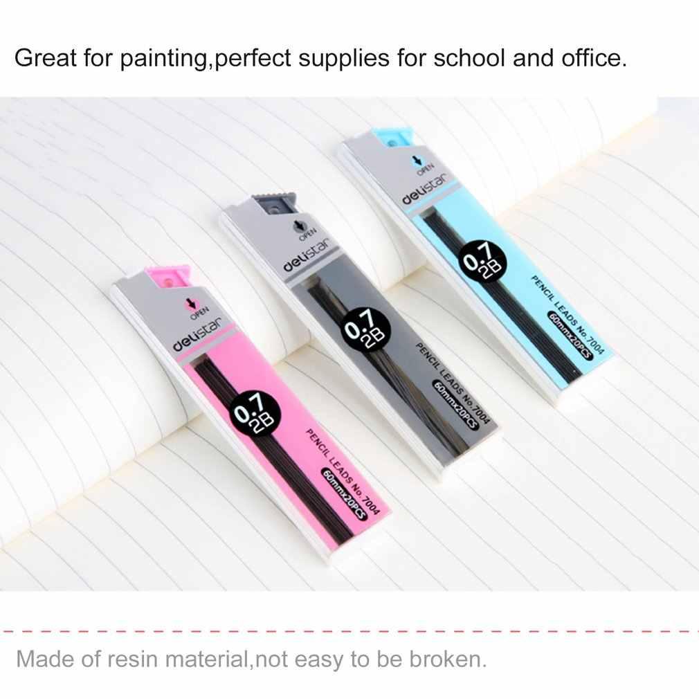 כתיבה 7004 עיפרון מוביל פרימיום אנטי פיצוח 0.7mm 2B מכאני עיפרון מילוי בית ספר ציוד משרדי