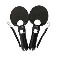 OSTENT, 2 x Набор для пинг-понга, бита для настольного тенниса, вечерние принадлежности для sony PS3 PS Move Motion