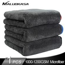 Автомойка 1200GSM, полотенце из микрофибры для мытья автомобиля, ткань для Сушки автомобиля, толстая тряпка для мытья автомобиля, ткань для ухода за автомобилями, кухонной машиной тряпка для авто микрофибра для автомоб