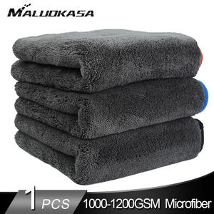 Cloth Microfiber-Towel Car-Washing-Rag Car Detailing Cars 1200GSM Kitchen Thick
