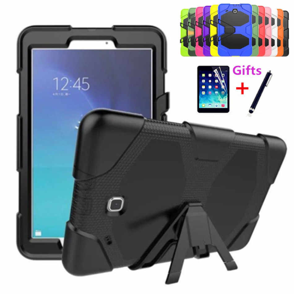 Для Samsung Galaxy Tab E 9 6 чехол военный сверхпрочный Силиконовый прочный защитный
