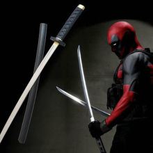 61 см 76 см меч Дэдпула нож Косплей оружие реквизит ролевые игры ПУ фигурка модель подарок на Хэллоуин