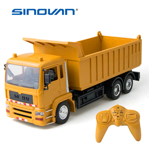 RC Engineering truck remote control Super power Dump car model Children's toys Boys Birthday Xmas gifts electric loader car