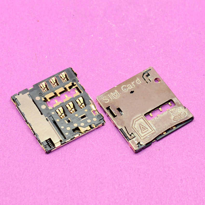 Yuxi Kartu SIM Reader Holder Tray Slot Soket Kabel Fleksibel untuk Samsung Galaxy Tab T801 T805 T800 SM-T801 Suku Cadang