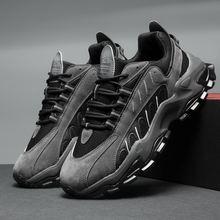 Мужская повседневная обувь на шнуровке трендовая открытом воздухе