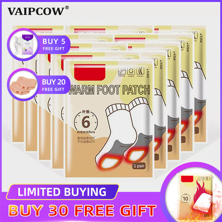30 Pairs Self-heating Insole Heating Baby Warm Foot Paste Hot Post Winter Breathable Warm Foot Insoles Warm Insole Heated Insole