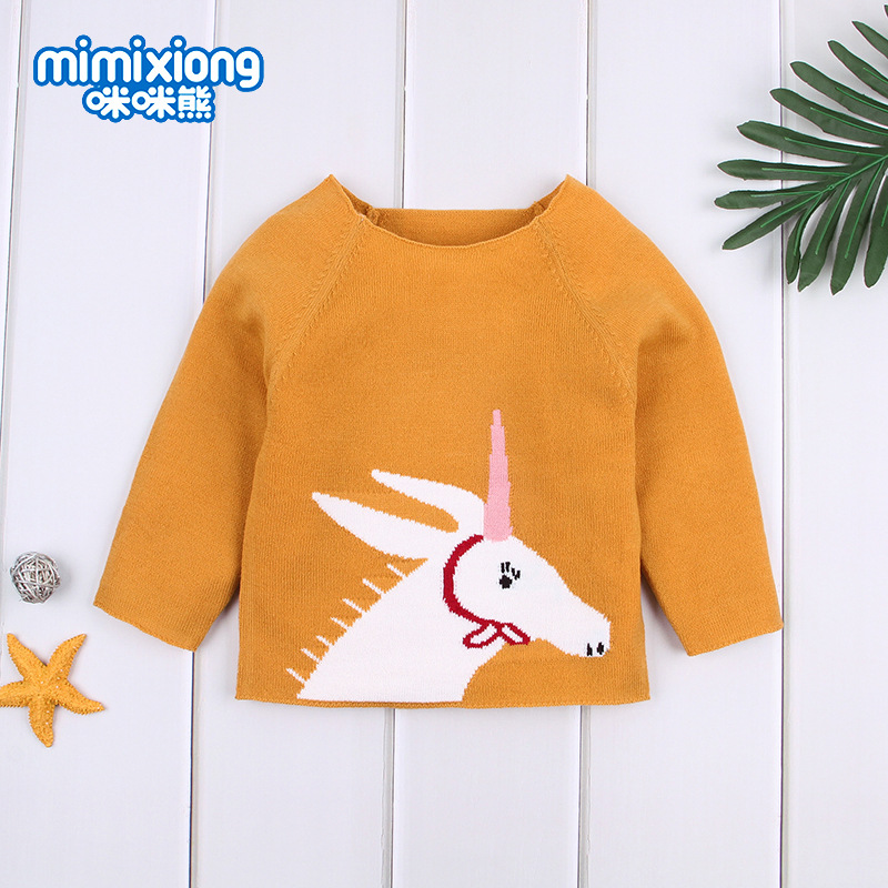 INS Hot Models Infant Knit My Little Sweater Wish Hot Selling