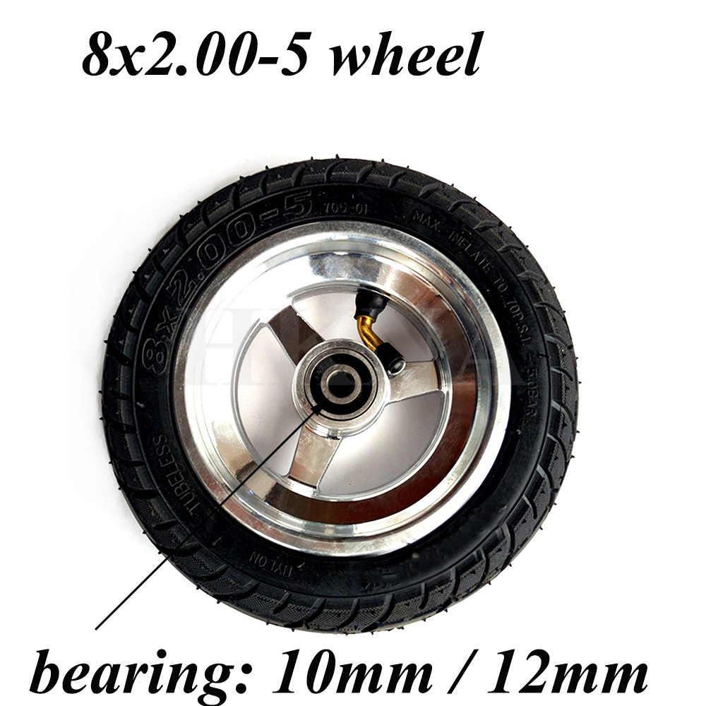 8x2.00-5 Wiel Tubeless Tyre 2.10-5 Vacuüm Wiel Hub Voor Elektrische Scooter Kugoo S3 Pocket Bike mini Bike Rolstoel