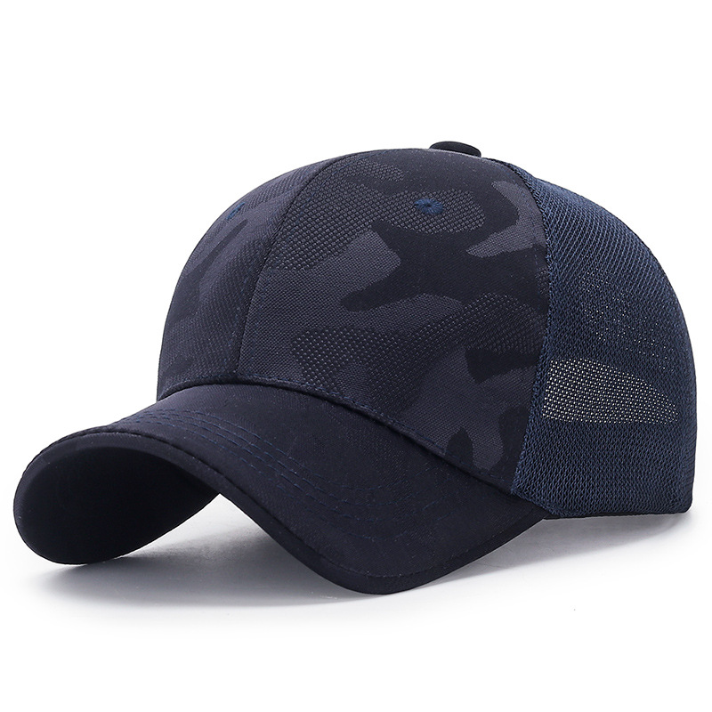 New camouflage series baseball cap summer outdoor sunscreen shading hat men's sports leisure tactical cap wild universal hats 4