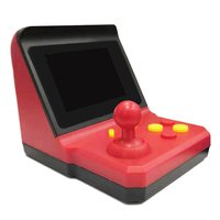 Retro Arcade Mini Portable Video Game Console arcade FC red and white handheld SUP rocker game console 600 game