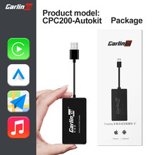 Carlinkit apple carplay sem fio dongle android auto usb para modificar tela android carro carplay2air mirrorlink carplay caixa adapte