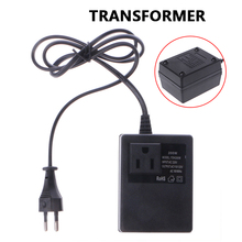 200W 220V TO 110V Electrician Adapter AC Power Converter Durable Low Frequency Plug Socket Watt-Hour Meter