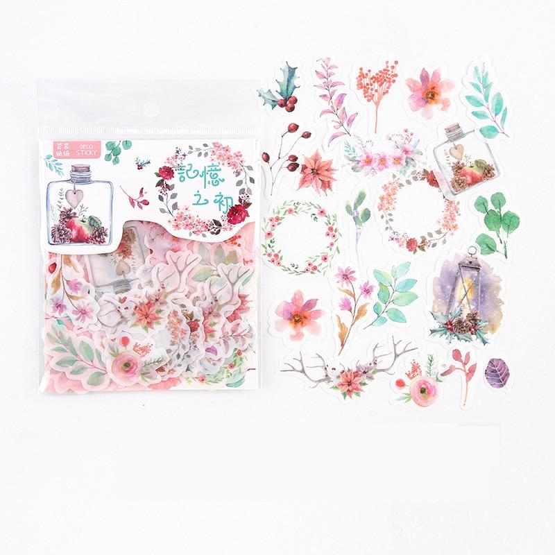 Альбом для фотографий «цветы и листья»