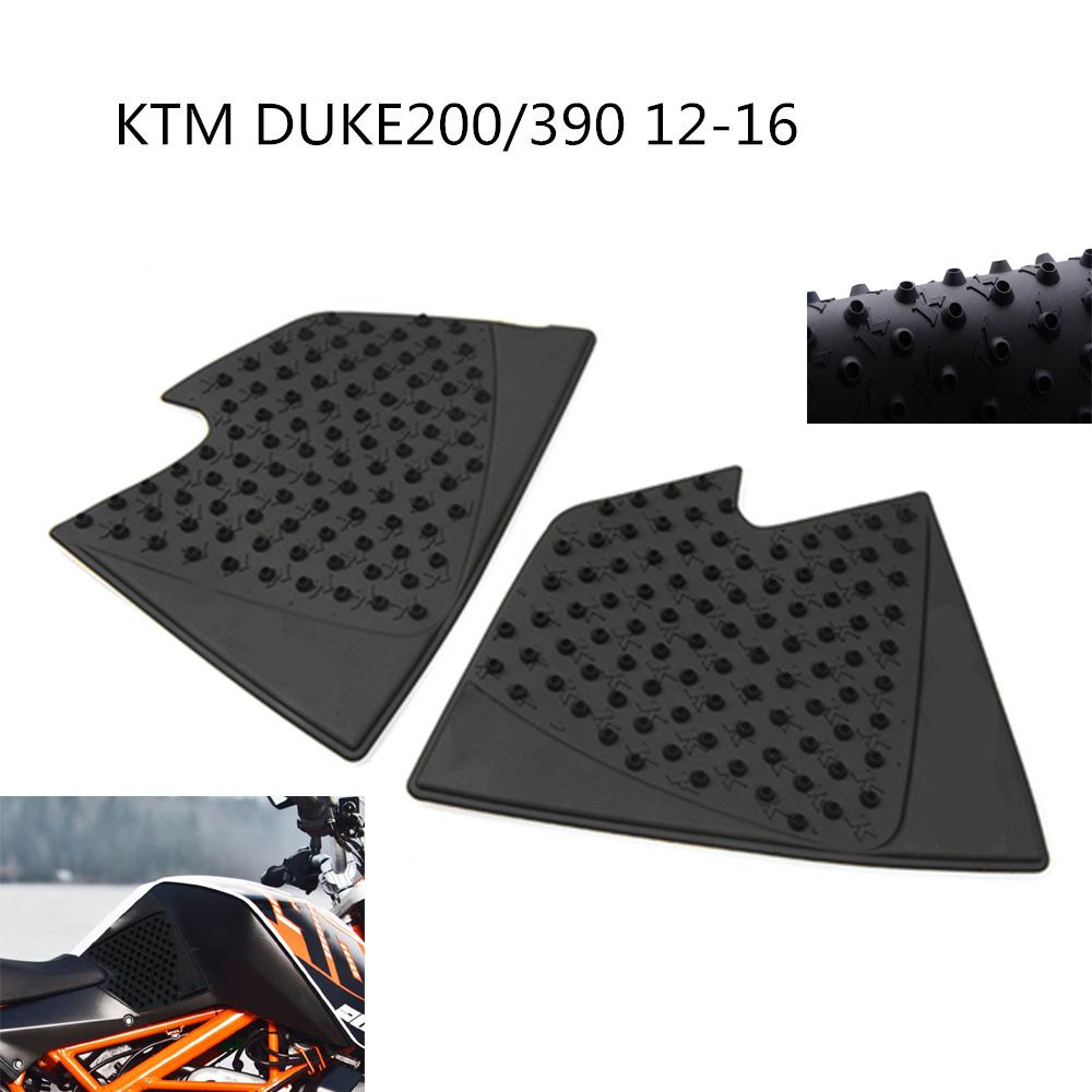HobbyLane Motorcycle Tank Pad Protector Sticker Decal Gas Knee Grip Tank Traction for 2012 2016 KTM DUKE 125 200 390 in Care from Automobiles Motorcycles