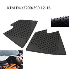 цена HobbyLane Motorcycle Tank Pad Protector Sticker Decal Gas Knee Grip Tank Traction for 2012-2016 KTM DUKE 125 200 390 онлайн в 2017 году