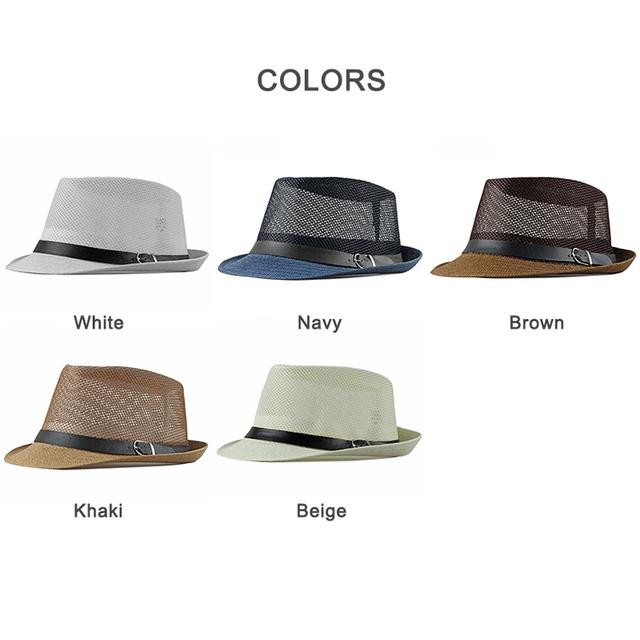 Nuevo sombrero de fieltro de primavera y verano