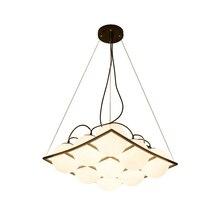 Modern Minimalist Iron Glass Pendant Lights LED Lighting for Living Room Dining Kitchen Bedroom Loft Hanging