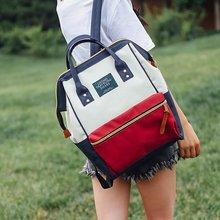 School Backpack Women 2020 New Female Cute Cartoon Transparent Students Schoolbag Shoulder Bags Fashion Canvas Backpacks Bag