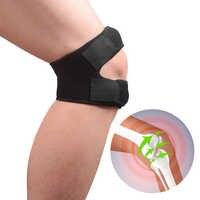 Sport Knie Pads Verstellbare Knie Unterstützung Frühling Patella Knie Sehne Straps Schutz Outdoor Knie Hosenträger Verband für Mann Frau