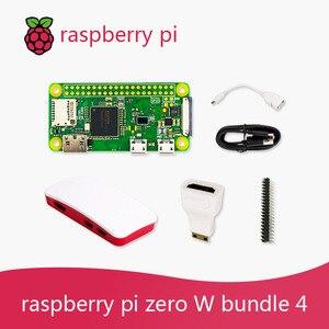 Image 5 - Raspberry Pi Zero W DEV Kit 1GHz single core CPU 512MB RAM 2.4G WiFi Bluetooth 4.1 Bundle include Case MINI HDMI uUSB Cable