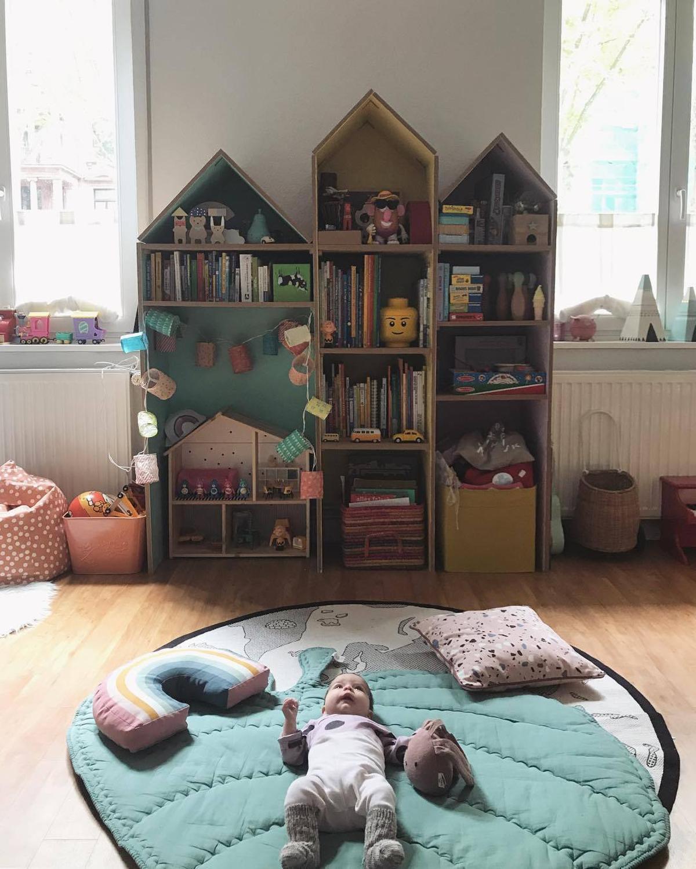 Baby Play Mat Green Leaf Climbing Carpet Infant Crawling Blanket Love Mat Rug Toys Mat Children Room Decor Photo Props