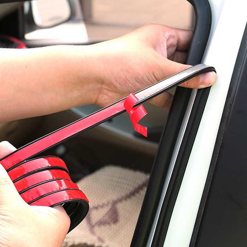 1 mètre bricolage caoutchouc voiture porte joint bande autocollants Anti-poussière insonorisé étanchéité B Type isolation phonique Auto intérieur accessoires