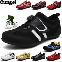 Cungel велосипедная обувь MTB Мужская Женская велосипедная обувь гоночные горные велосипедные кроссовки профессиональные самоблокирующиеся дышащие