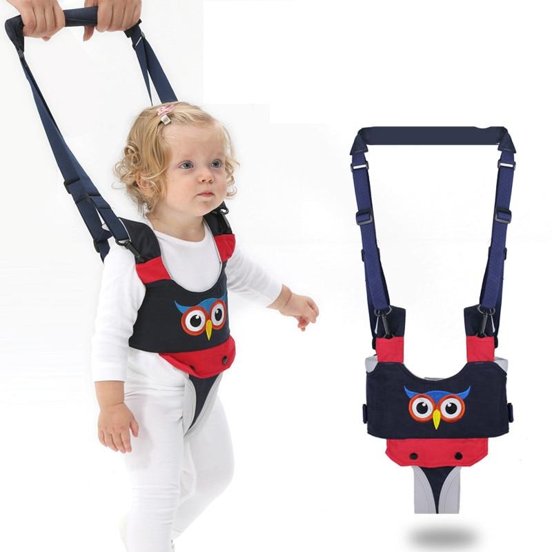 Baby Toddler Harnesses Backpack Walk Andador para bebe Cute Baby Kids Assistant walker with wheel Walk Learning belt Baby