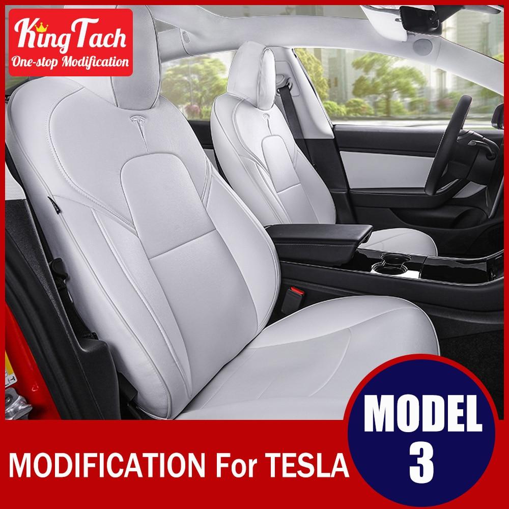 capa de assento do carro para tesla model 3 plutonio totalmente fechado respiravel confortavel interior modificado