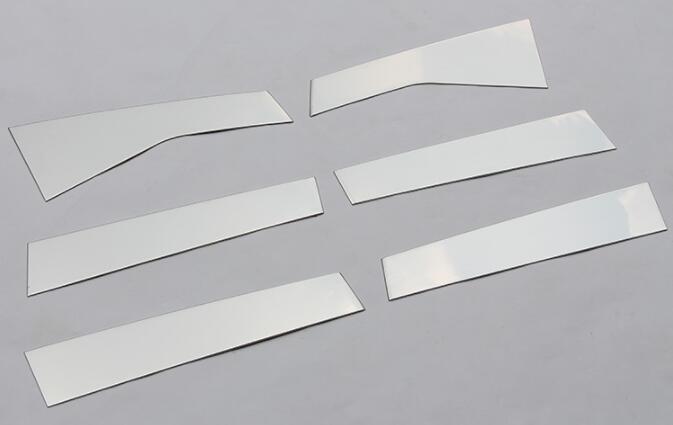 Garnitures de la barre lumineuse 15-18 de décoration de colonne moyenne de fenêtre d'acier inoxydable pour la Modification de bord de Ford