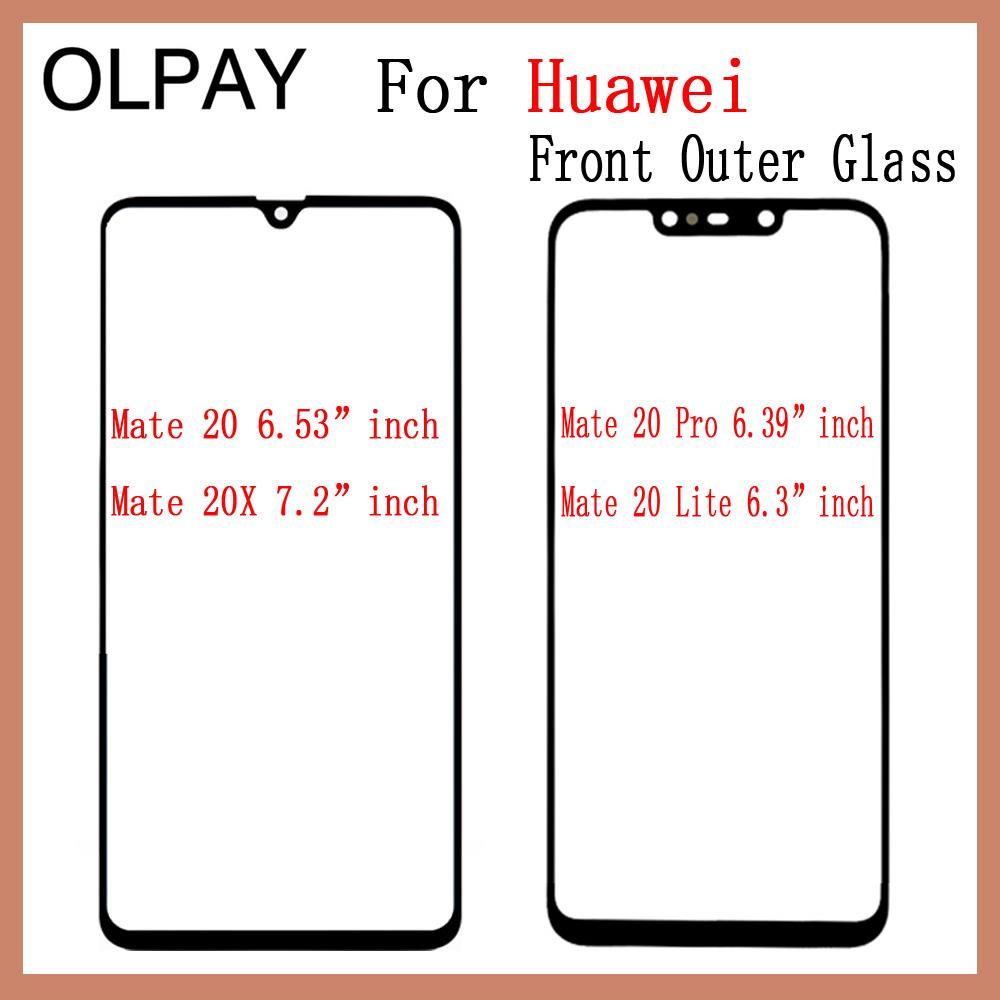 Touch Screen Glass For Huawei Mate 20 20X 20 Pro 20 Lite 20Pro 20Lite LCD Display Outer Glass Lens Phone Spare Parts Replacement