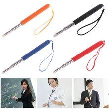 Whiteboard-Pen Teacher-Pointer 1M Torch Telescopic Felt-Head Stainless-Steel Professional