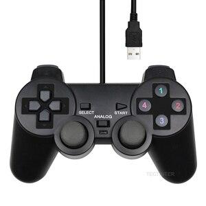 Image 1 - PC Controller USB Verdrahtete PC Joystick Für PC Windows Spiel Joypad Gamepad Für WinXP/Win7/Win8/Win10 für Vista