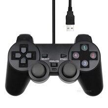 Pcコントローラusb有線pcジョイスティックpcのwindows用のゲームジョイパッドゲームパッドwinxp/Win7/Win8/Win10 vista用