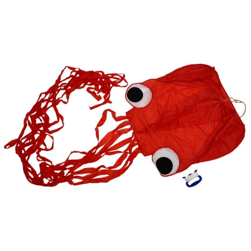 4M de una sola línea acrobacias Red Octopus Power Sport Flying Kite juguete de actividad al aire libre FLAME'S CREED XUNSHANG 20D silnylon 1 persona al aire libre ultraligero Camping tienda 3 Temporada lluvia mosca carpa lona