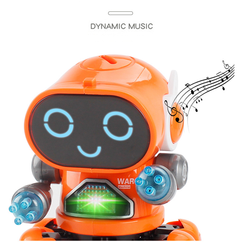 Mini RC Intelligent Robotic Toys Made With Plastic And Electronic Components Material 1