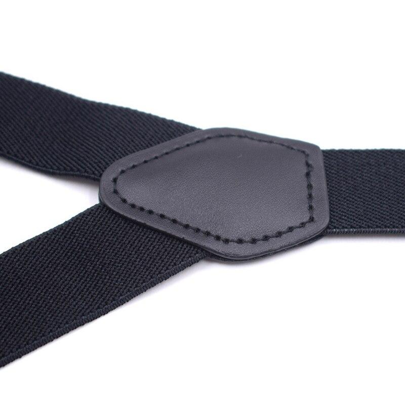 Новинка 2019 года; модный детский комплект с подтяжками и галстуком-бабочкой; черные регулируемые эластичные подтяжки для мальчиков и