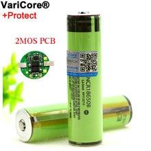 Nowy chroniony 18650 NCR18650B 3400mah akumulator 3.7V z PCB do baterii latarki