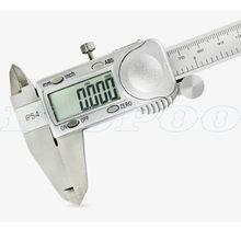 Calibre eletrônico do micrômetro da espessura da pinça de digitas do mícron do mícron 0.005mm do calibre do mícron do calibre da espessura de vernier da marca ip54 150mm 200mm 300mm