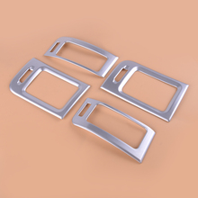 цена на New 4pcs Inner Car Middle Air Condition AC Vent Outlet Frame Cover Trim Fit for Nissan X-trail T31 2008 2009 2010 2011 2012 2013