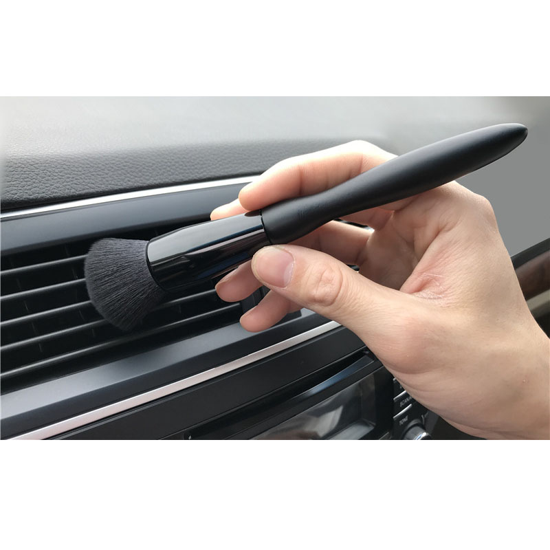 Car Beauty Detail Brush Car Soft Brush Wire Dust Gap Cleaning Brush Interior Air Conditioner Air Outlet Cleaning