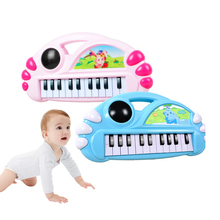 music kids toys toddler toys for children fisher price toys 1 year old childrens toys instrumentos musicales para niños cheap NoEnName_Null Plastic 2061 Educational Unisex Infant Playing Type Key Type