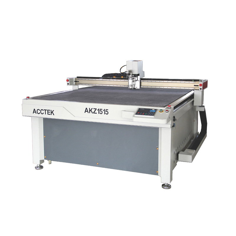 Hot Sale CNC Oscillating Knife Cutting Machine For Artificial Leather Cutting/ CE Certification Oscillating Knife Cutter AKZ1515