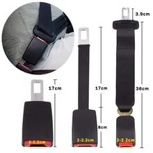 Universal Seat Belt Extender 3 ขนาดความปลอดภัยเข็มขัดเหล็กรถที่นั่งเข็มขัดClipปลั๊กBuckle Seatbelt Clipอุปกรณ์เสริม
