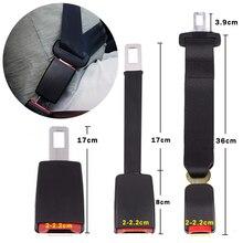 Universal Seat Belt Extender 3 Sizes Safety Belt Cover Steel Car Seat Belt Clip Extension Plug Buckle Seatbelt Clip Accessories