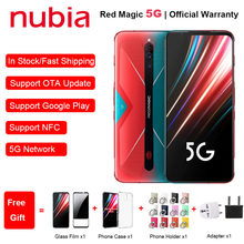 EU Version ZTE Nubia Rot Magie 5G Gaming Telefon 6.65
