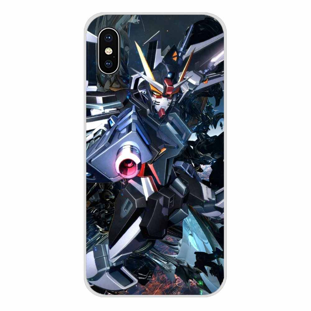 Anime Gundam 00 Accessories Phone Cases Covers For Apple iPhone X ...