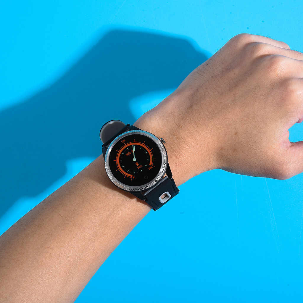 20 # شاشة تعمل باللمس بلوتوث ساعة ذكية اللياقة البدنية رصد عداد الخطى معدل ضربات القلب ضغط الدم النوم ECG دعوة تذكير ساعة ذكية