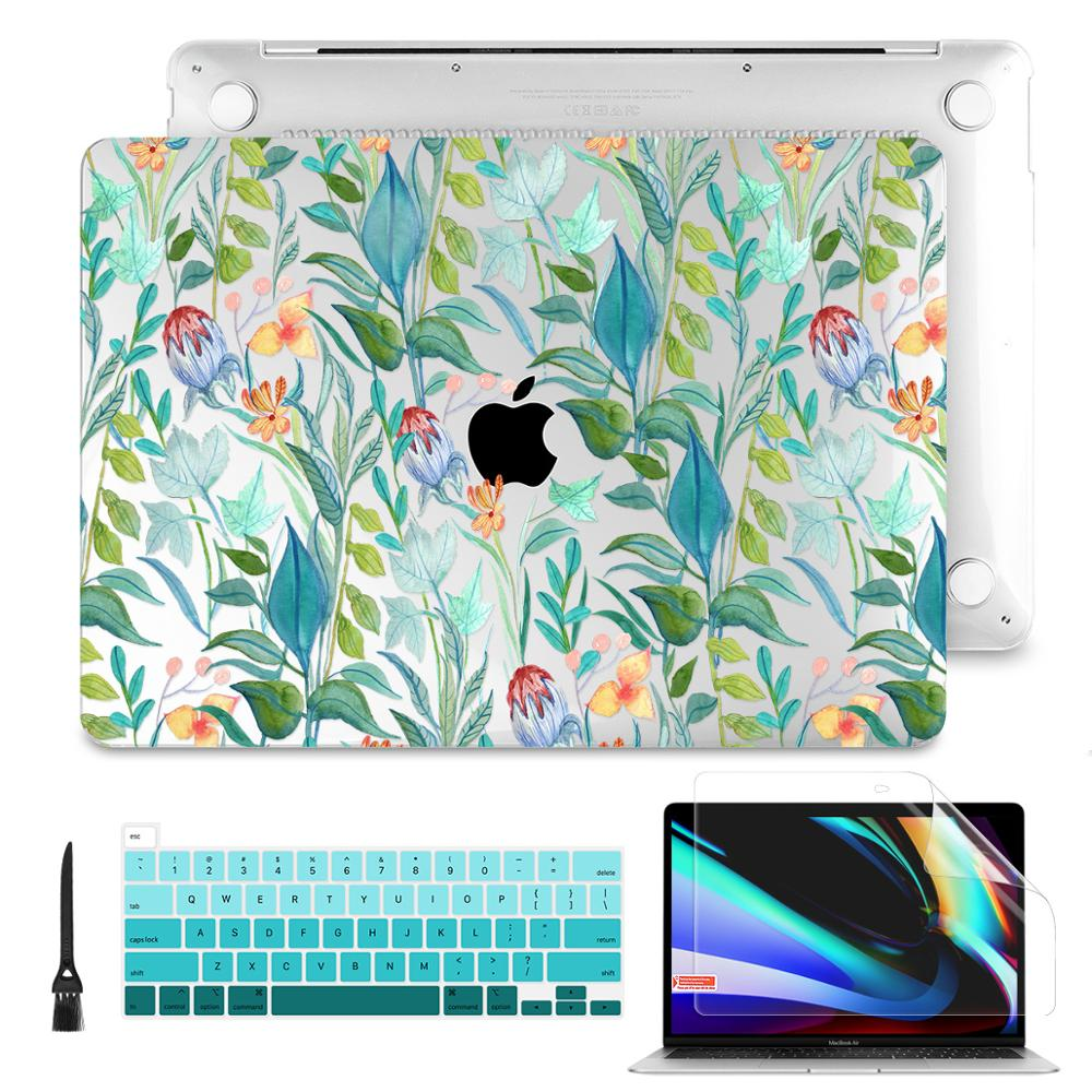 Printing Case For Macbook Air Retina 11 12 13.3 15.4 Pro 15 16 2019 2020 A2179 A2141 A1932 Touch bar cover with keyboard cover